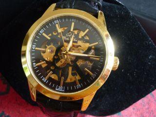 Armbanduhr Graf Von Monte Wehro - - Neuwertig - Mechanical Bild