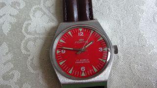 Fortis Handaufzug,  Uhrwerk Fhf Kal.  909 N Bild