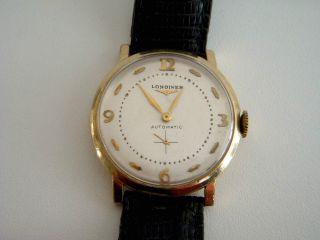 Longines Armbanduhr Für Herren,  Retro Zwischen 1980 - 99 Schöne Patina Bild