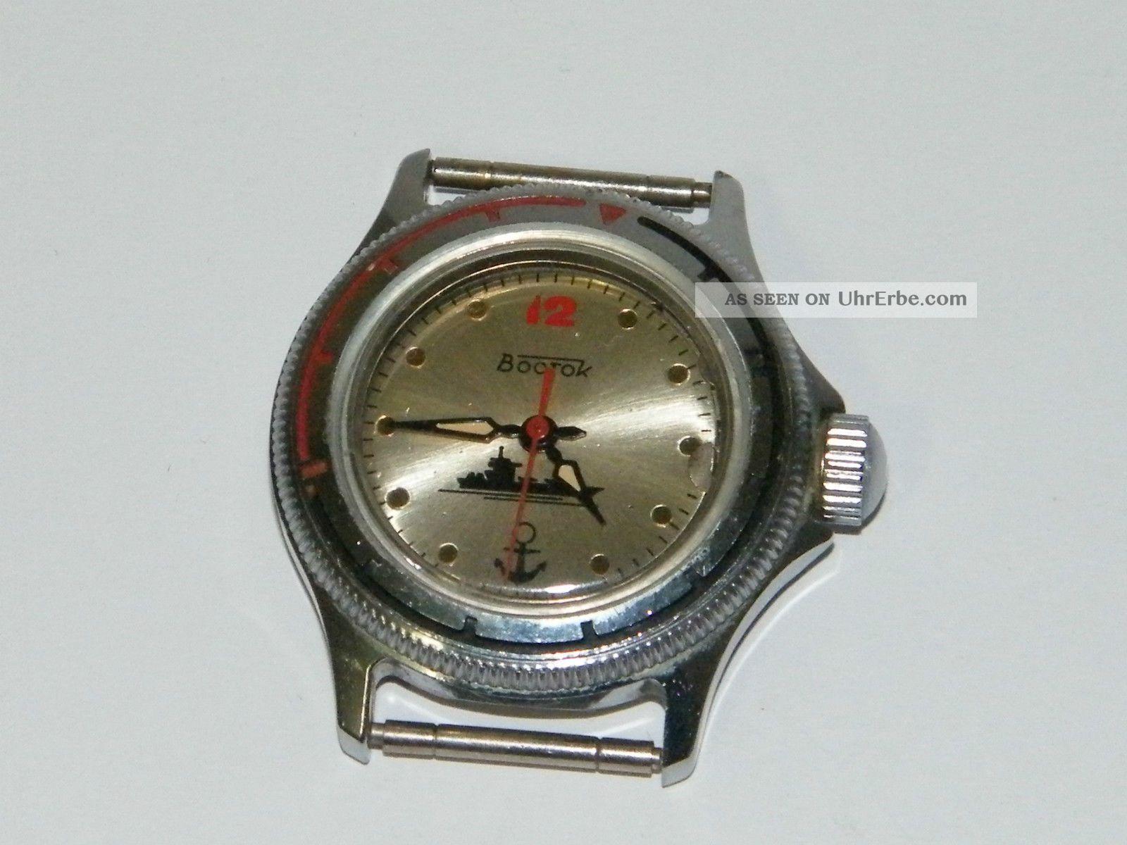 Wostok Vostok Militär Russische Uhr Handaufzug Hau ...