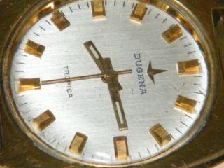 Dugena Handaufzug Herren Armbanduhr,  Wrist Watch,  Repair,  Cal 3332 - 2750 Eta Wo Bild