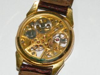 Skelettuhr Armbanduhr Unisex Vintage Wrist Watch,  Repair,  Ersatzteile Bild