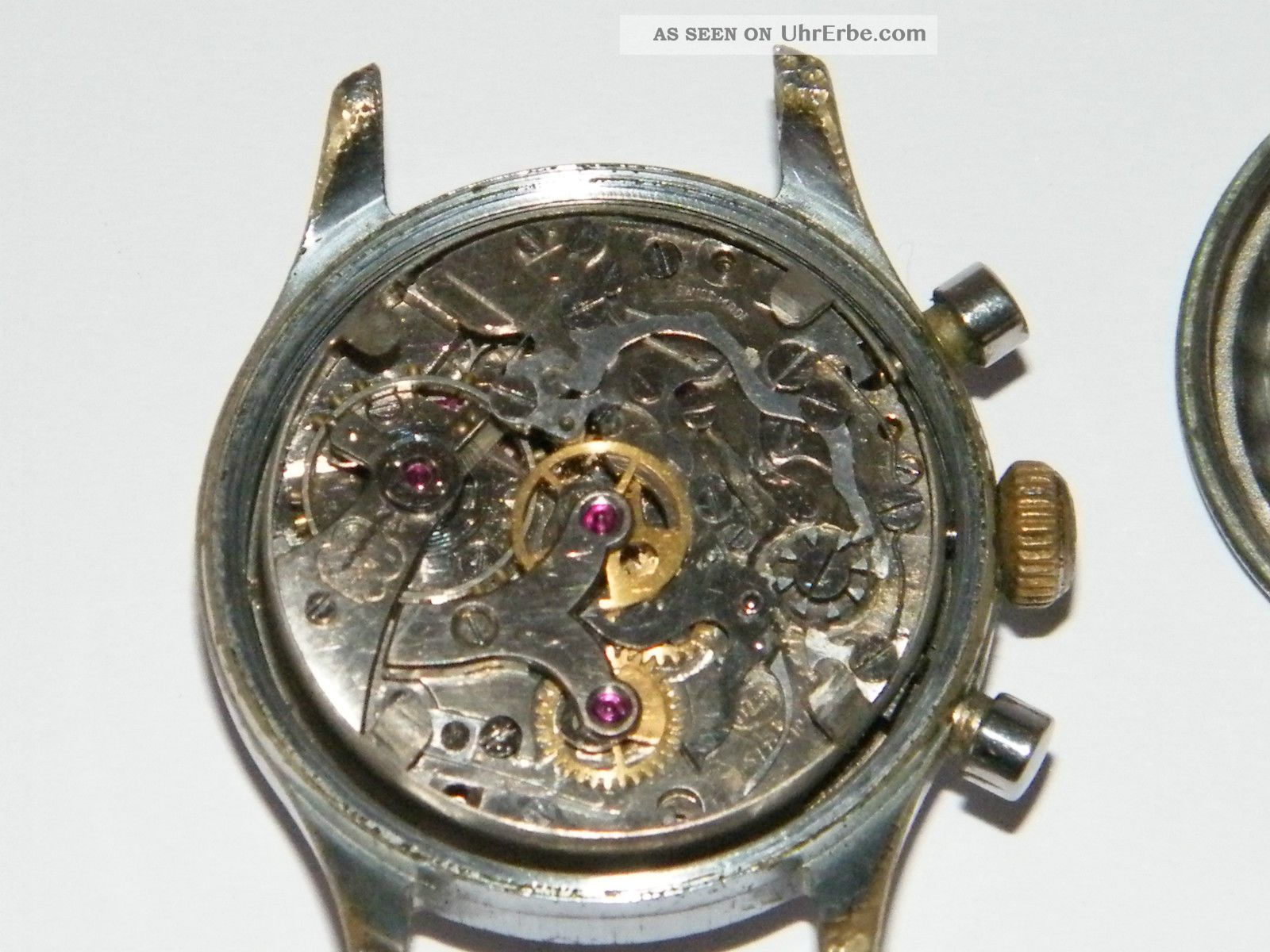 Elmo Chronograph Vintage Handaufzug, Wrist Watch, Repair ...