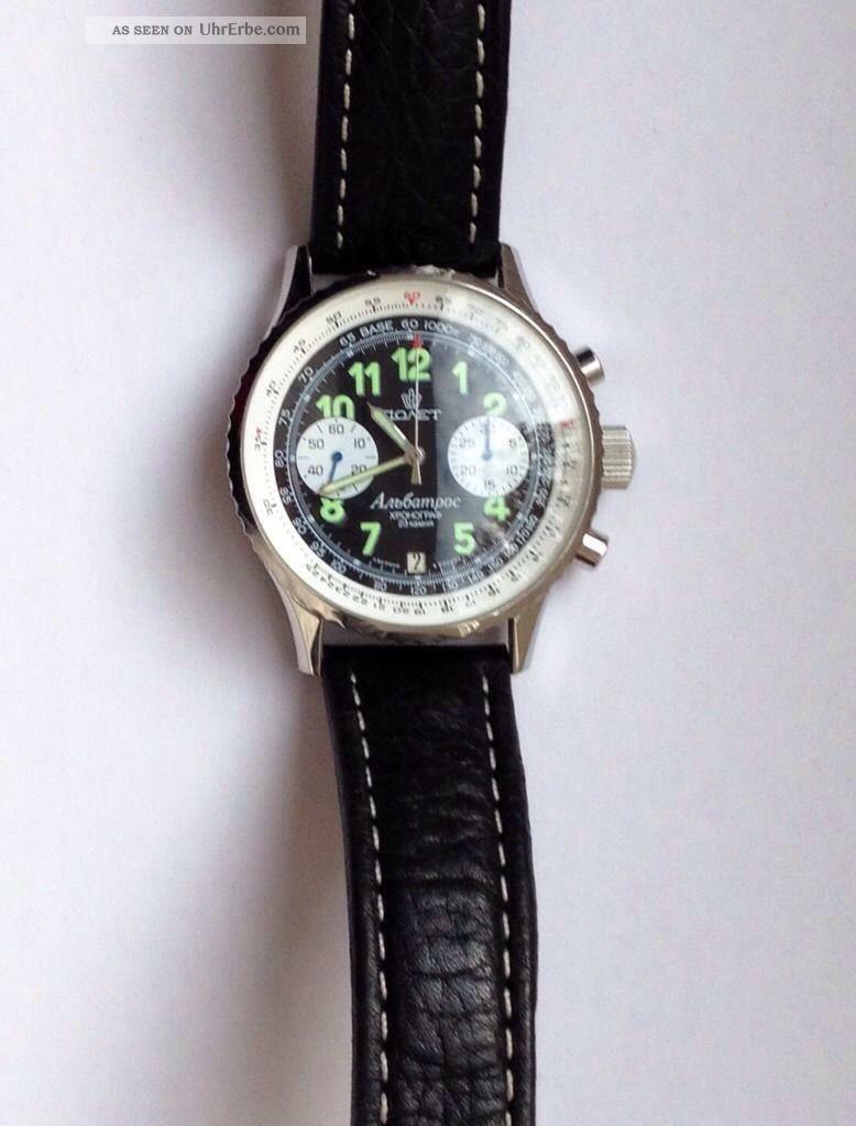 Poljot 3133 Chronograph Armbanduhren Bild