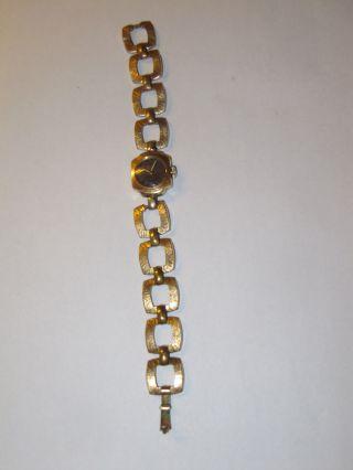 Vergoldete Damenuhr / Handaufzug _nachlass _ Bild