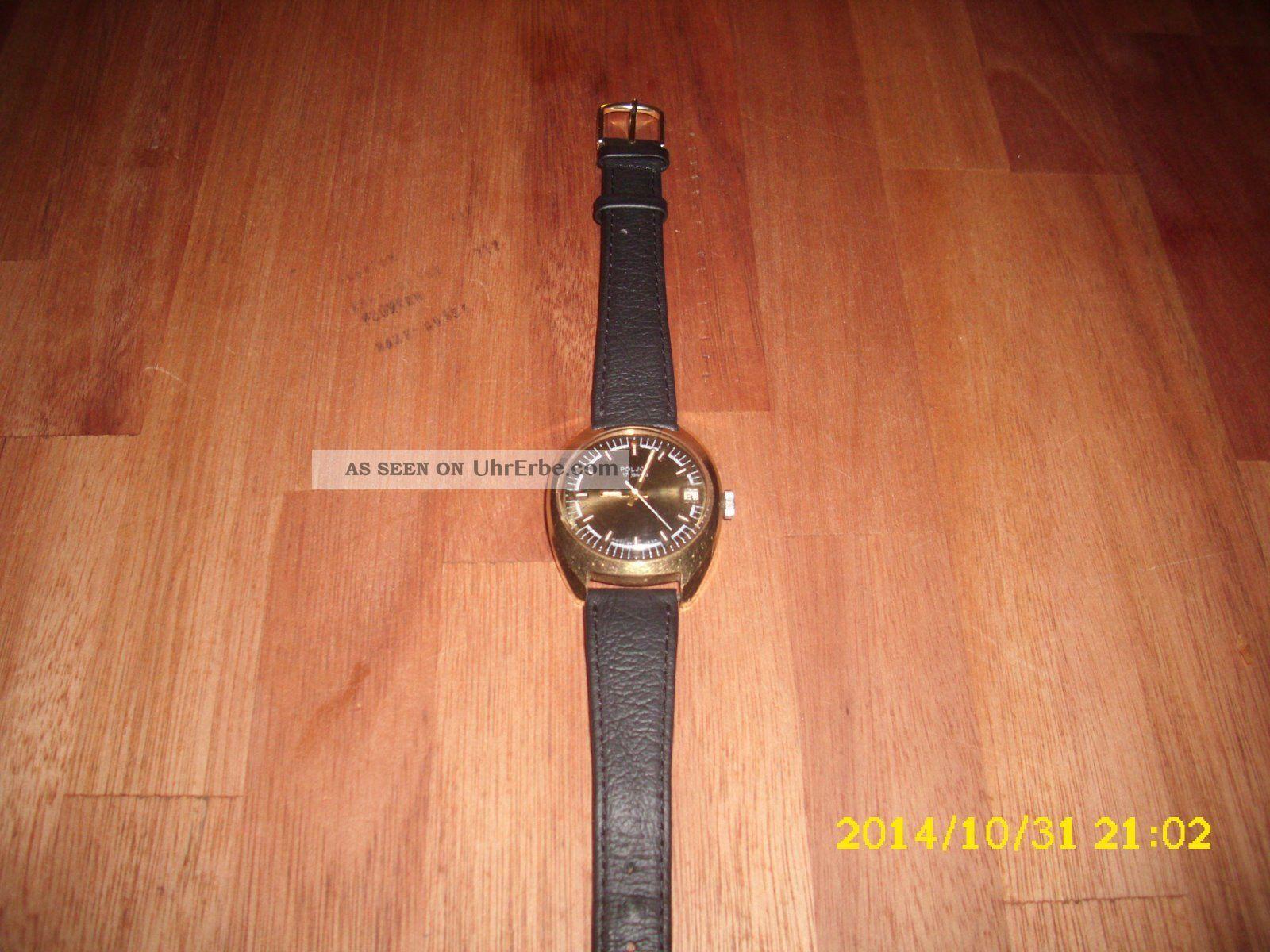 Armbanduhr Mechanisch - Poljot - Mit Datumanzeige,  Sekundenzeiger - Armbanduhren Bild