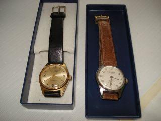 2 X Kienzle Markant - Herrenarmbanduhren - Armbanduhr - Handaufzug - Alt Bild