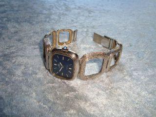 Blumus Armbanduhr 925 Silber Mechanik - Werk Voll FunktionstÜchig Bild