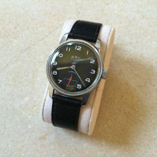Bwc Swiss Uhr,  Hau,  Wehrmachtskaliber,  60er70er Vintage Bild
