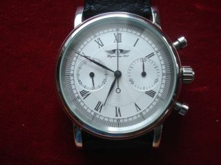 Hau,  Chronograph Wagner,  Handaufzug,  Edelstahl Bild