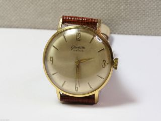 Glashütte Kaliber 70.  1 Schöne Herrenuhr (men ' S Wrist Watch).  Handaufzug. Bild