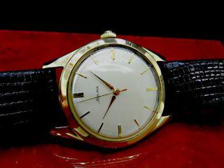 Alpina Cal.  598 Herren Armbanduhr Von 1960 Schöner Bild