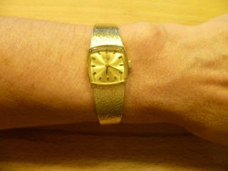 Du Bois Damenuhr 750 Gold Handaufzug 40,  22 Gramm Bild