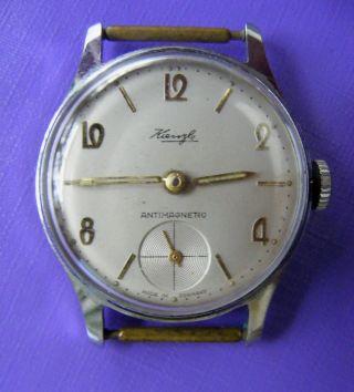 Schöne Mech.  Armbanduhr / Hau,  Kienzle Handaufzug F.  Bastler Bild
