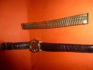 Herrenarmband Uhr Vintage Bild