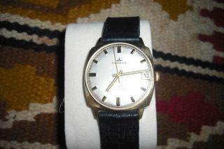 Dugena Safety Calendar Sammler Handaufzug Armbanduhr Bild