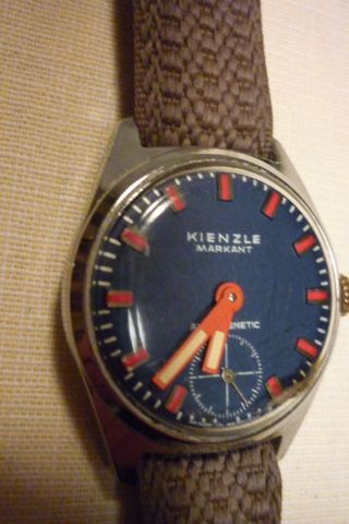 Herrenuhr Kienzle Markant Mechanisch - Handaufzug Armbanduhr Uhr Bild