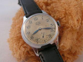 Herren Armbanduhr,  Gub,  Glashütte 60.  Handaufzug.  Vintage Ddr. Bild