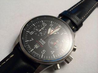 Junkers Flieger Chronograph Mit Poljot 3133,  Ref.  6614 - 2 Bild