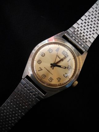 Anker Antimagnetic Stossgesichert,  Handaufzug.  Herren Uhr.  22,  5 Cm Lang Bild