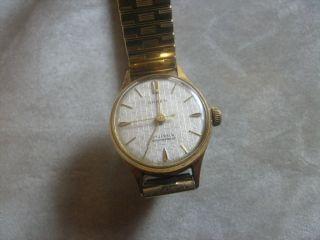 Anker Handaufzug Armbanduhr Bild