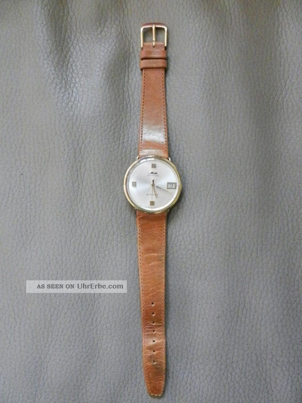 Mido Ocean Star Powerwind Uhr Armbanduhren Bild