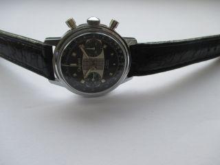 Vintage Gigandet Olympic Chronograph Handaufzug Sammlerstück Bild