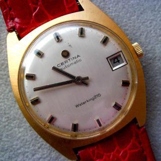 Alte Uhr Certina - Mechanisch - Handaufzug Bild