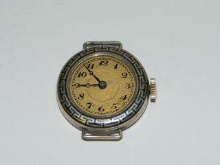 Tula Silber 800er Uhr Damen Alt Handaufzug Hau,  Vintage Wrist Watch,  Repair Bild