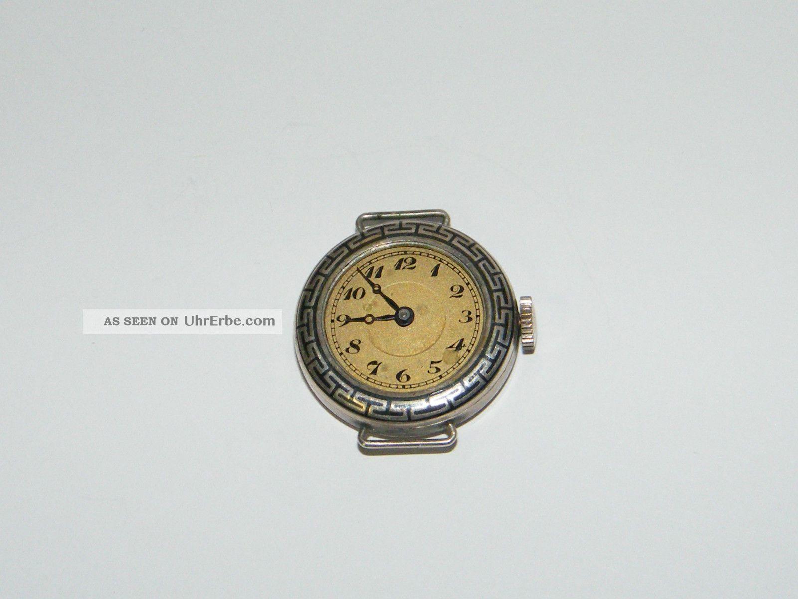 Tula Silber 800er Uhr Damen Alt Handaufzug Hau, Vintage ...