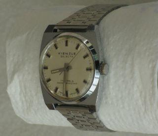 Kienzle Selecta Herren - Armbanduhr Aus Den 60er Jahren Bild