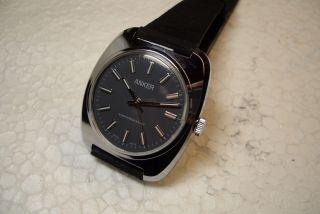 Anker Swiss Made Nos Alte Herren Armbanduhr 70 ' Er J.  Kal.  Eb 8810 Bild