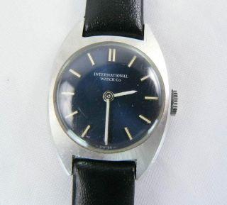 Iwc Uhr Ref.  4108 Mit Cal.  412,  Sehr Schön Bild
