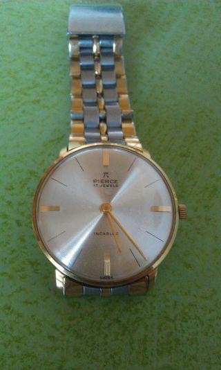 Eine Alte Pierce Uhr Aus Meiner Sammlung,  Sehr Schön Erhalten Bild