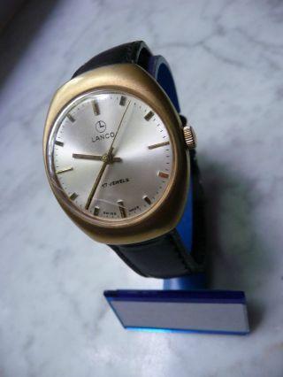 Lanco Swiss Made Herren Armbanduhr Hau Herren Uhr Mechanisch Bild