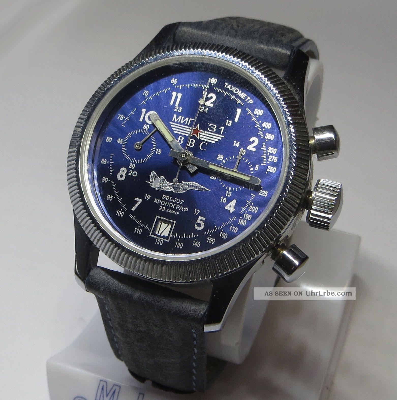 chronograph mechanisch