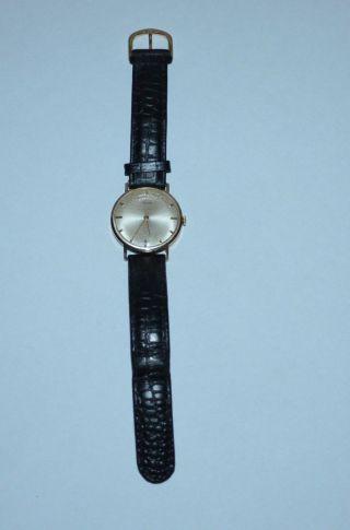 Alte Alpina Uhr Swiss Made / Armbanduhr 585er/14k Gold Handaufzug Bild