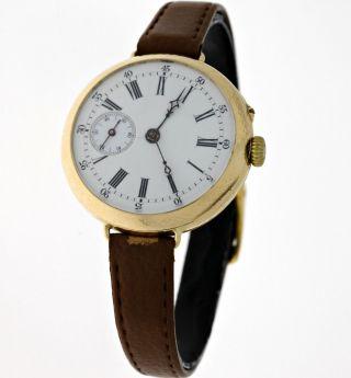 Antike 14kt.  Gold Damen Armband - Taschenuhr Mit WunderschÖnem BrÜckenwerk Um 1900 Bild
