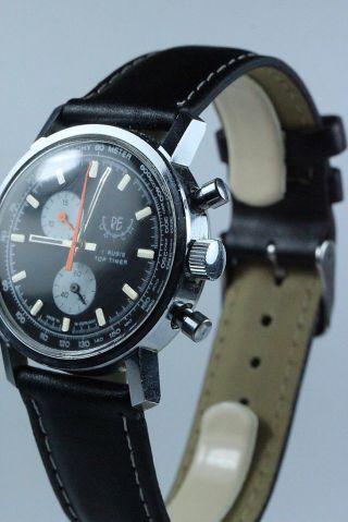 Chronograph Re Watch,  Top Timer,  Eb 7420,  Mechanisch,  Ca.  1975 Bild