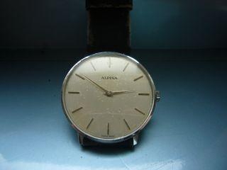 Alpina Vintage Uhr Bild