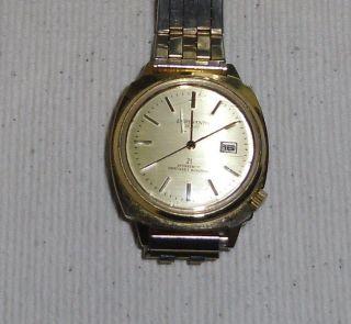 Esperanto De Luxe Herren Armbanduhr Vintage 60er Edelstahl Handaufzug Bild