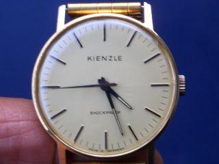 Seltene Mechanische Kienzle Herren Armbanduhr Gut Erhalten Läuft Gut. Bild