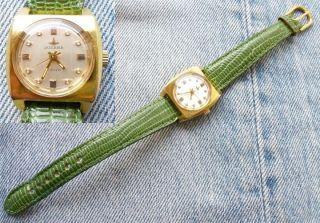 Dugena Monza Armbanduhr Damen Damenuhr Uhr Mechanisch 3340 (eta 2640) Bild