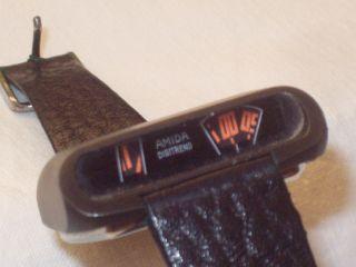 Armbanduhr Amida Digitrend Autofahreruhr Scheibenuhr 70er Uhr Bild