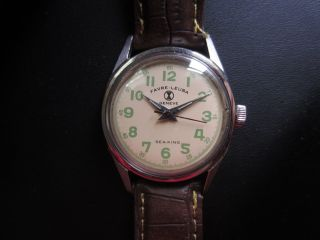 Mechanische Schweizer Favre Leuba Sea - King,  Geneve Armbanduhr Mit 2 Armbänder Bild