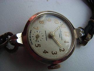 Damen Armbanduhr Ingersoll Großbritanien Handaufzug Bild