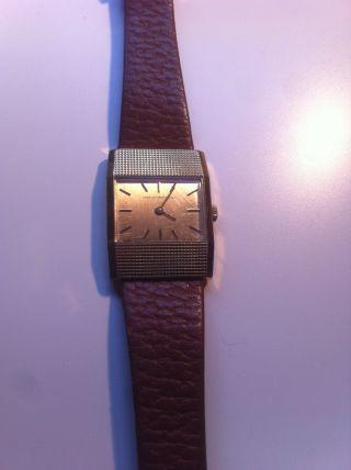 Girard Perregaux Uhr Vintage Old Alt Wrist Watch - - Läuft - Punz 4040 Ra Bild