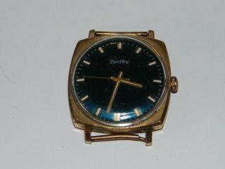 Zentra Handaufzug Hau,  Vintage Wrist Watch,  Repair,  Kaliber Puw 360 Germany D.  R.  G.  M Bild