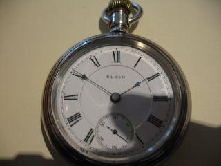 Elgin Taschen - Uhr Bild