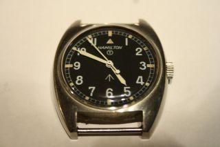 Hamilton W10 Militäruhr Militay Watch Armbanduhr Uhr Handaufzug Selten Bild